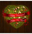 christmas designl vector image