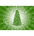 green christmas vector image vector image
