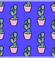 hand drawn succulent vector image