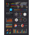 iinfographics set and information vector image vector image