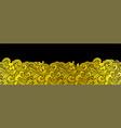 oriental ocean wave seamless background vector image vector image