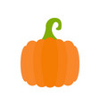 simple pumpkin vector image
