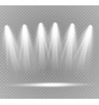 spotlight light effect vector image vector image