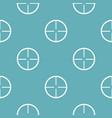 aim pattern seamless blue vector image