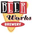 Beer works brewery