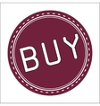 Buy Icon Badge Label or Sticke vector image vector image