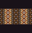ethnic geometric seamless pattern tribal rug vector image