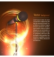 graphics image microphone vector image vector image
