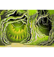 Magic Tale Forest Background vector image vector image