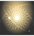 Solar wind vector image vector image