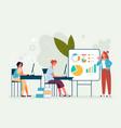 supervisor workshop speaker motivation conference vector image