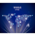 world wide vector image vector image