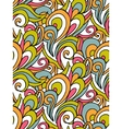 abstract swirl pattern colorful waves vector image
