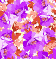 Floral seamless pattern with Flowers wild rose vector image vector image