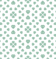 Light seamless pattern with diamonds vector image vector image