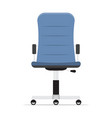 office chair isolated on white background vector image