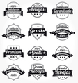 spanish retro sales free labels vector image vector image