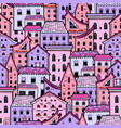 houses new pattern 3 vector image