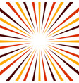 abstract background with radiating lines sunburst vector image