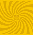 abstract spiral design background vector image vector image