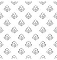 ar cube seamless pattern or background vector image vector image