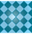 Blue background with texture tiles vector image