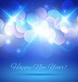 Blue Violet Bokeh Abstract Light Background vector image vector image