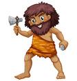 Caveman vector image vector image