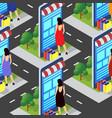 e-commerce online store conceptual stock vector image