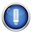 Energy saving light bulb icon vector image vector image