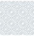 Light grey geometric 3d seamless pattern vector image vector image
