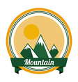 mountain design vector image