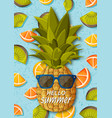 summer background template for banners and vector image