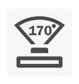 vdo camera icon vector image