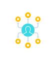 affiliate marketing concept icon
