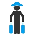 Agent Passenger Icon vector image vector image