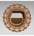 Coffe icon design vector image