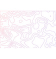curved lines fluid shapes of movement dynamical vector image vector image