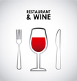 restaurant design vector image
