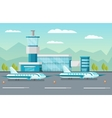 Airport Orthogonal vector image vector image