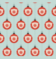 christmas covid19 seamless pattern virus vector image