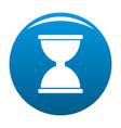 cursor click loading icon blue vector image