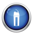 Fitness bottle icon vector image vector image