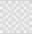 grayscale abstract square pattern seamlessly vector image vector image