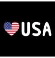 I LOVE USA5 vector image vector image