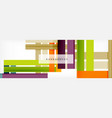 minimal line design abstract background vector image vector image
