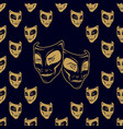 new pattern 0210 theatrical mask vector image