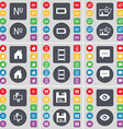Number Battery Picture House Negative films Chat vector image vector image