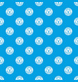 painting tool brush pattern seamless blue vector image vector image