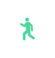 Pedestrian Icon vector image vector image